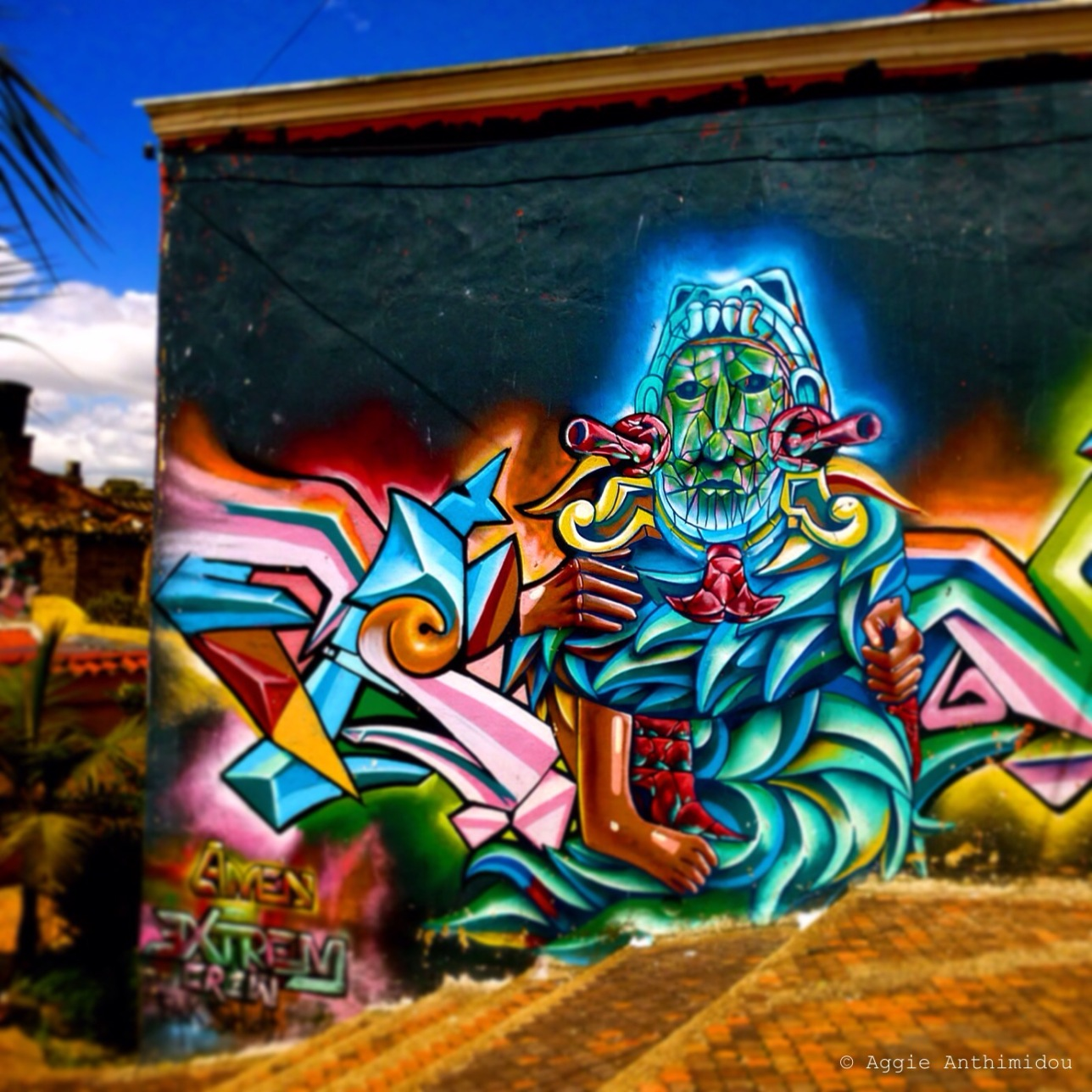 Street art, La Candelaria