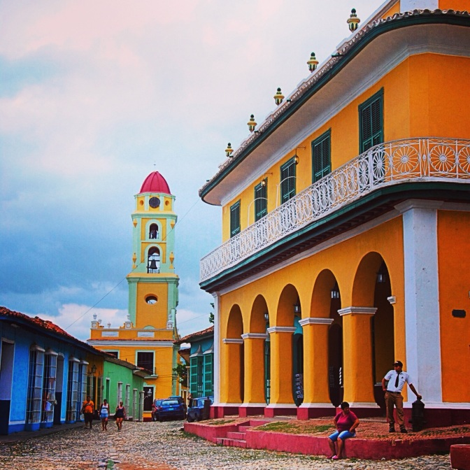 Finding 'family' away from home on Mother's Day at Trinidad, Cuba